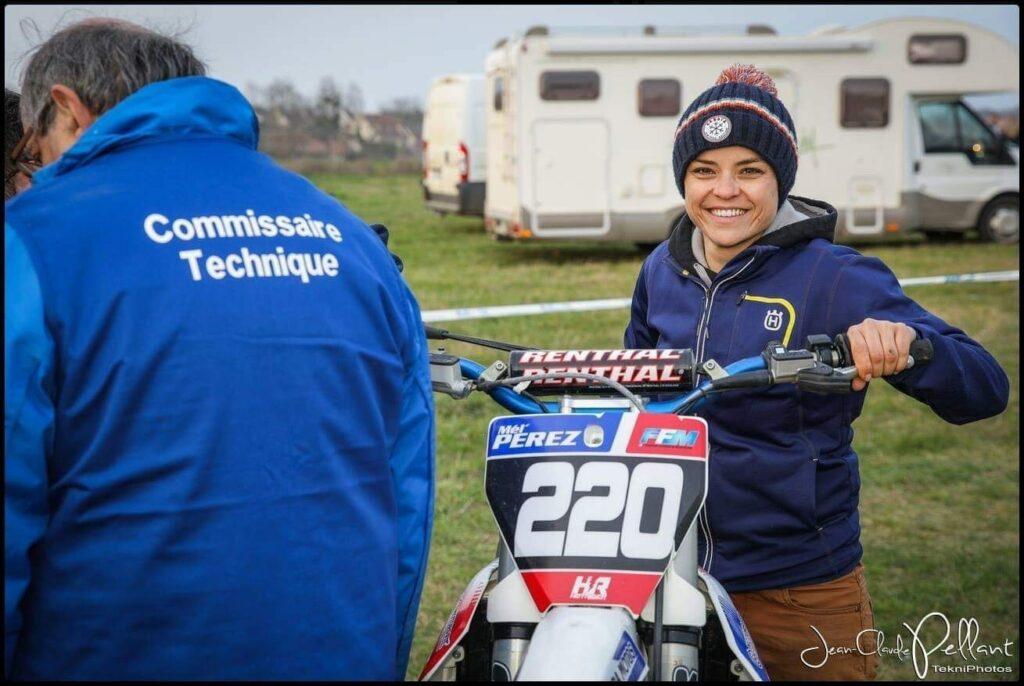 motocross femme
