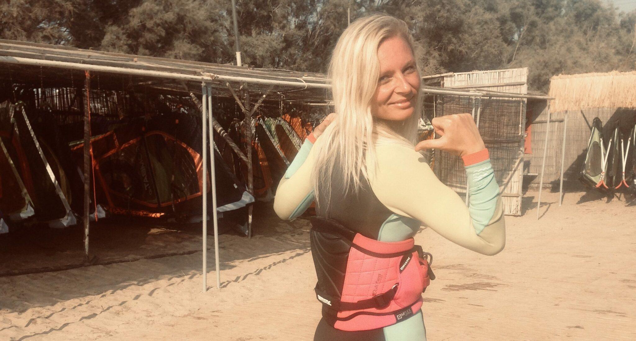 Alizee windsurf