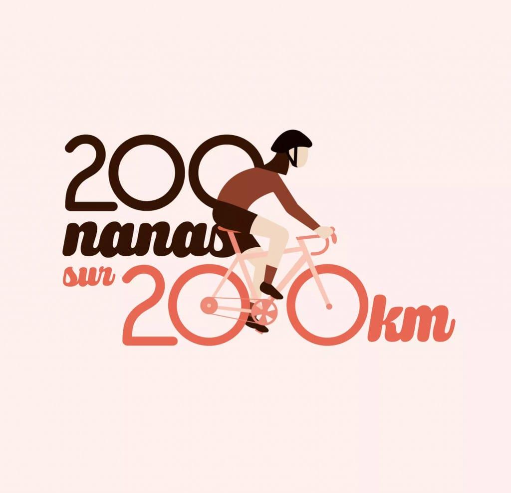 200 nanas sur 200 km