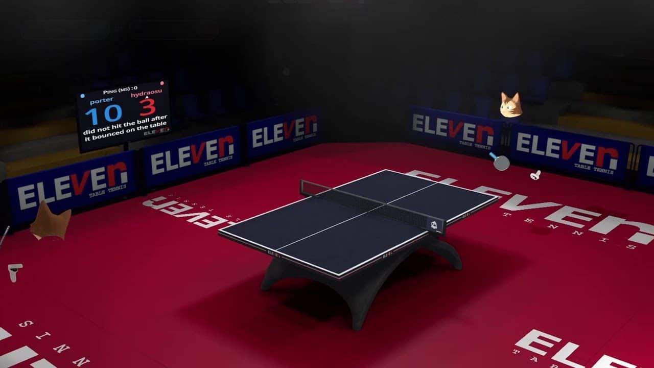 Open tennis de table virtuel