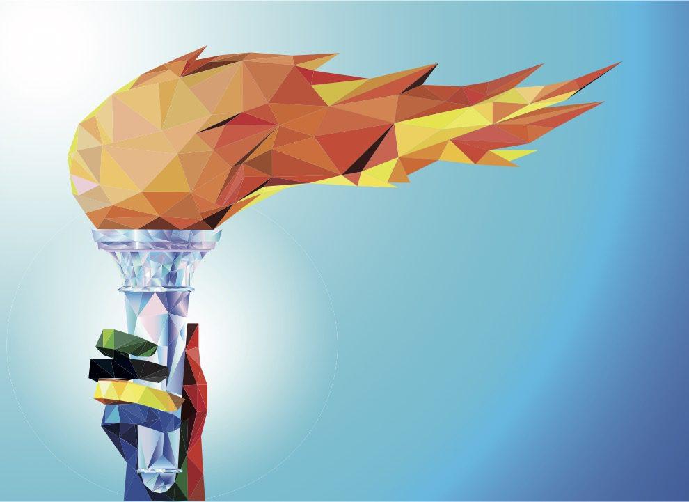 7 symboles olympiques