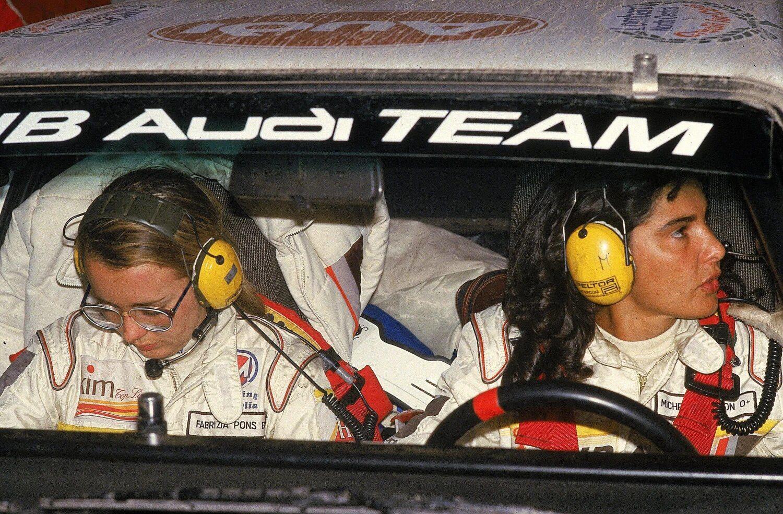 14 août 1982 Deux femmes en tête du Rallye du Brésil