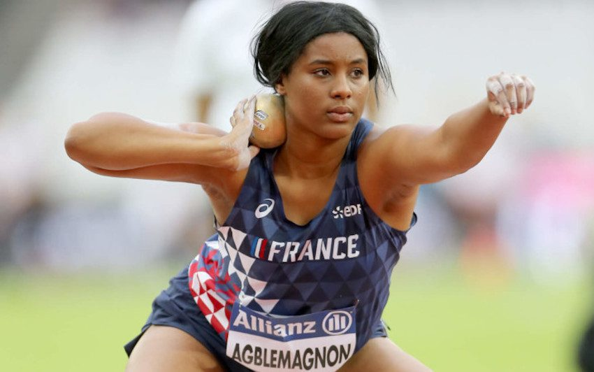 Gloria Agblemagnon, , l'athlète paralympique qui veut son poids en or