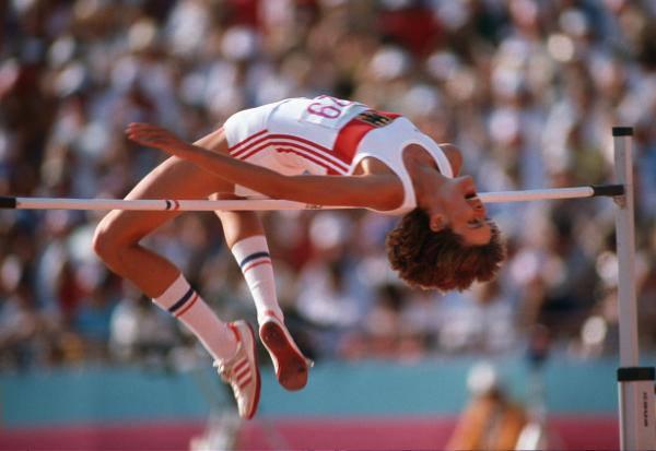 25 août 1983 Tamara Bykova enlève le record du monde de saut en hauteur