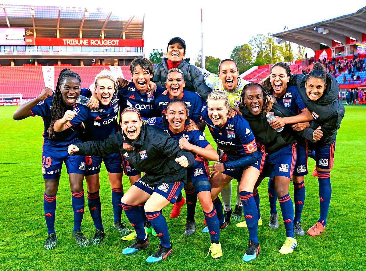 30 août 2020 L'OL féminin remporte la Ligue des Champions