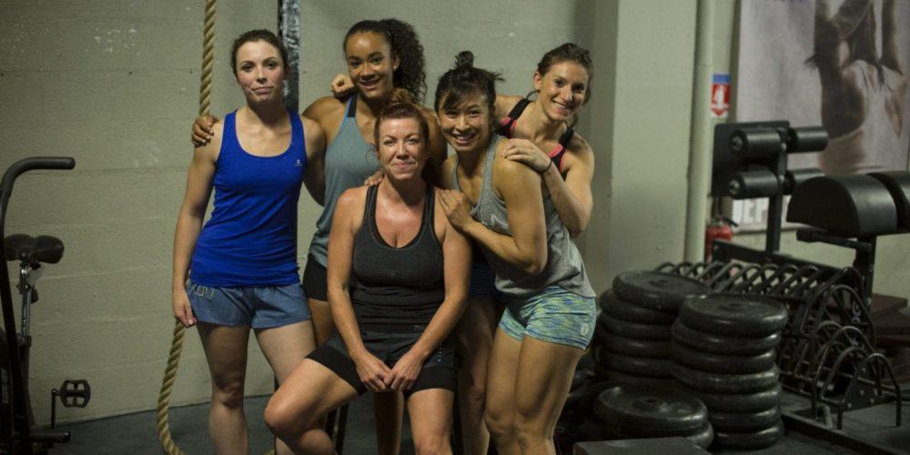 crossfit femme sport