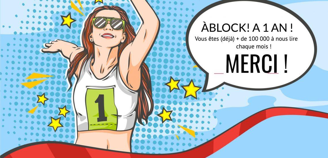ÀBLOCK! 1 an