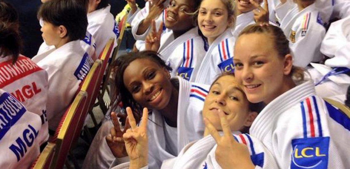 31 août 2014, L'équipe de France féminine de Judo est sacrée championne du monde