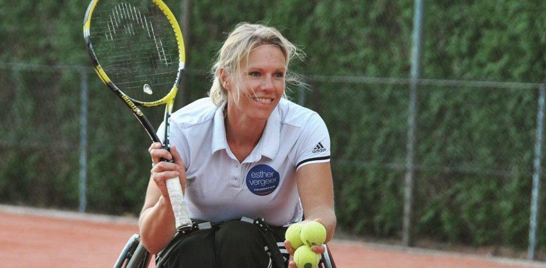Esther Vergeer, la légende vivante du tennis fauteuil