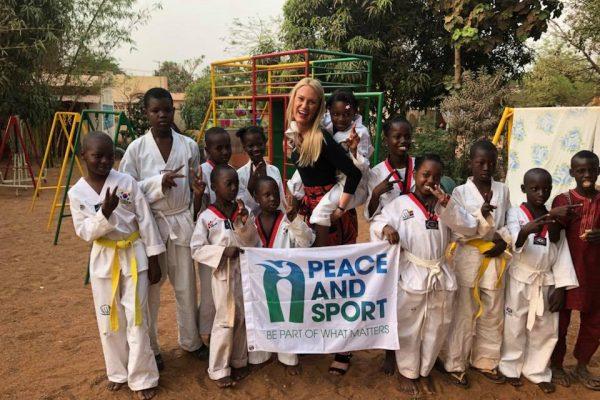 Marlène Harnois Peace and Sport