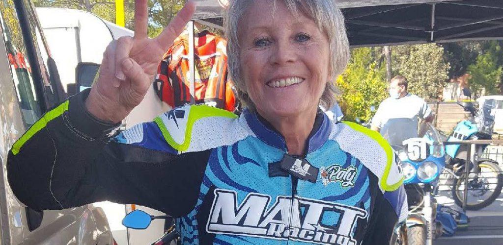Paty Audebert « Une fois sur la moto, je fais corps avec elle. »