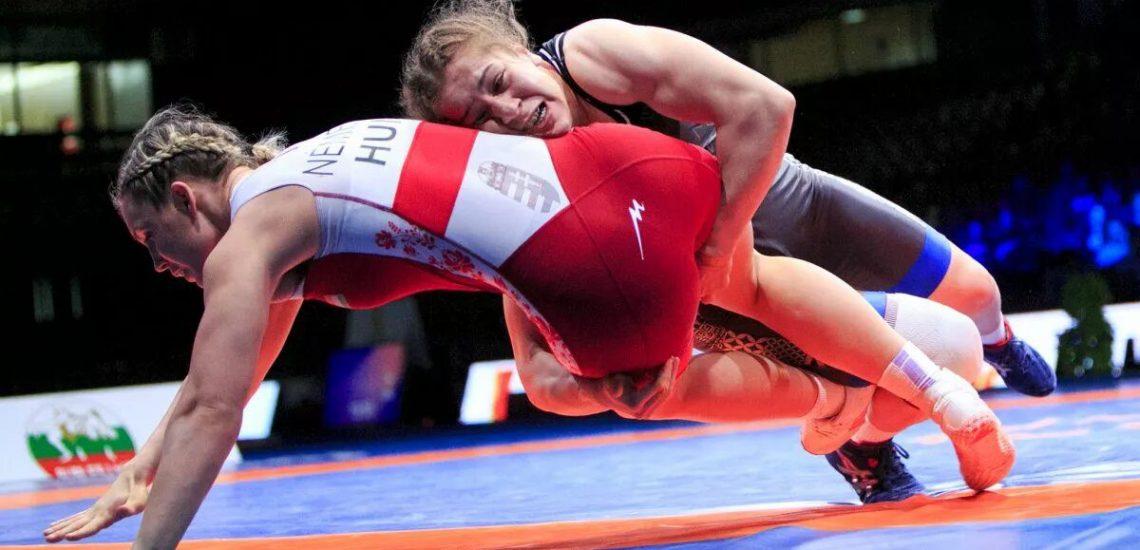 23 août 2017 Yasemin Adar est sacrée championne du monde de lutte