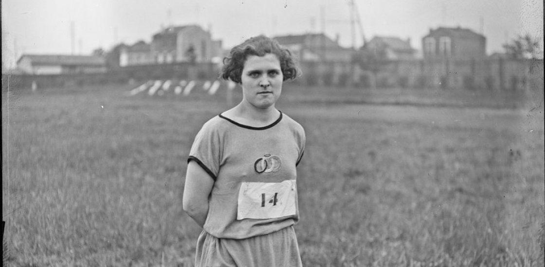 Lucienne Velu, « la reine du stade » des années 30, mais pas que…