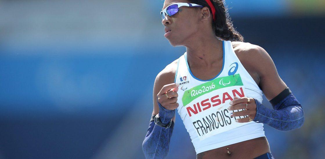Mandy François-Élie, reine de la piste handisport