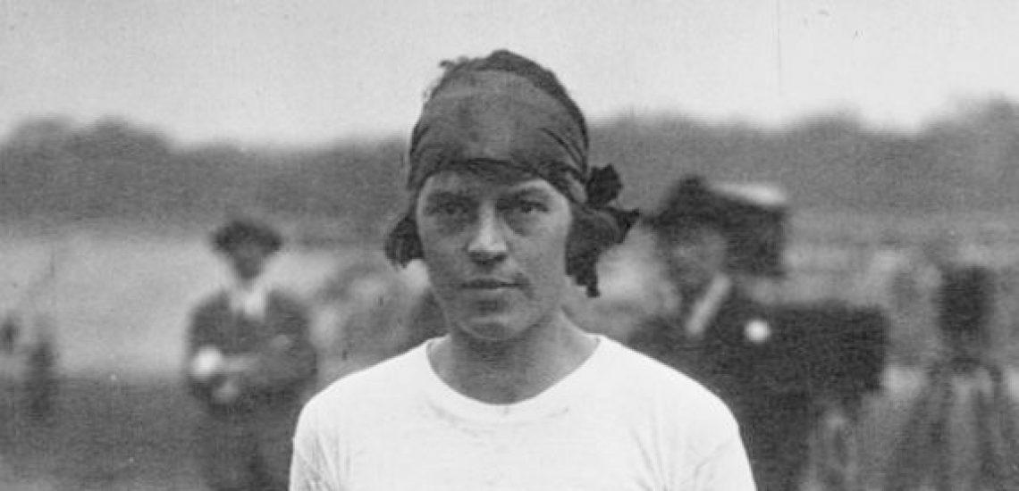 20 août 1922 Mary Lines crée l'exploit sur le 100m