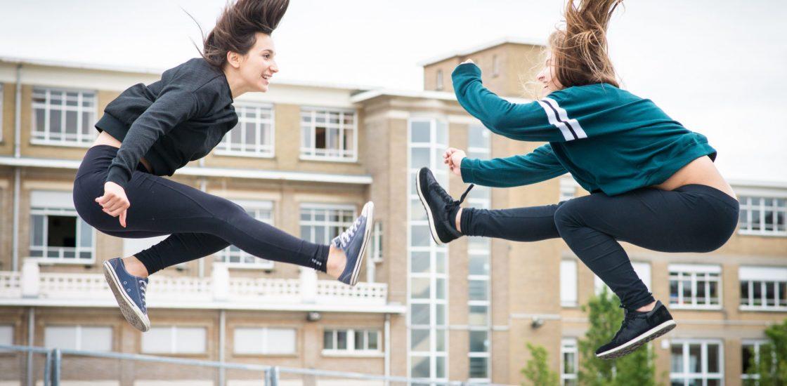sport femme banlieue